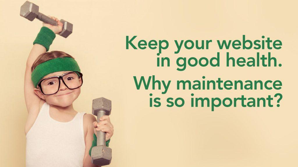 Keep your website in good health